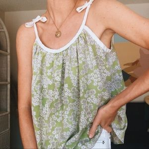 70's Floral Cami